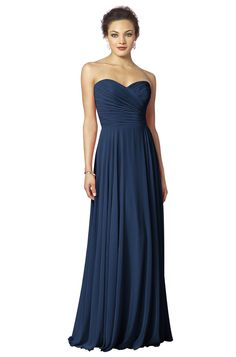 Shop After Six Bridesmaid Dress - 6639 in Lux Chiffon at Weddington Way. Find the perfect made-to-order bridesmaid dresses for your bridal party in your favorite color, style and fabric at Weddington Way.