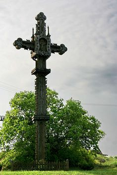 Kryždirbystė is a traditional Lithuanian art of crafting crosses and  is an important part of Lithuanian culture.