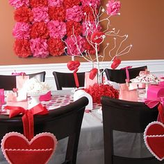 330 Best Valentine S Day Decorating Images On Pinterest Christmas