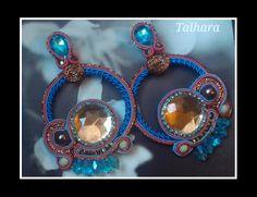 Pendientes Embrujo versión turquesa y coral