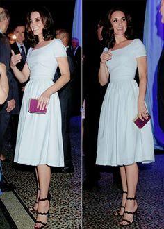 Kate, the Duchess of Cambridge.....