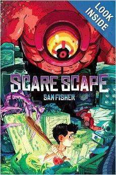 Scare Scape: Sam Fisher: this book is written for older readers so I read a couple of chapters to him everyday.