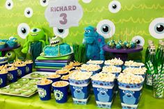monsters university Birthday Party Ideas | Photo 6 of 10 | Catch My Party