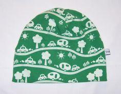 Lue Dobbeltsydd av bomullsjersey  str 5-6 år Kan vaskes på 40 grader Beanie, Hats, Hat, Beanies, Hipster Hat, Beret