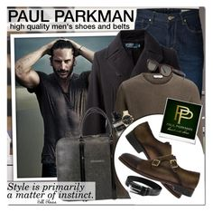 """""""PAUL PARKMAN - Style is primarily a matter of instinct!"""" by anita-n ❤ liked on Polyvore featuring SELECTED, Ralph Lauren Blue Label, Dsquared2, Viktor & Rolf, Armani Exchange, Tom Ford and Polaroid"""