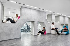 When Mount Sinai Medical Center and Continuum Health Partners merged in 2013, forming  Mount Sinai Health System. New York Offices of Mount Sinai Health System by Gensler NY In the New York offices of Mount Sinai Health System, existing trusses resurfaced in concrete veneer form a sculptural element.