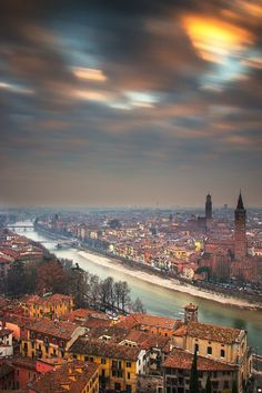 The passing of time in Verona by Andrea Belussi on 500px.com