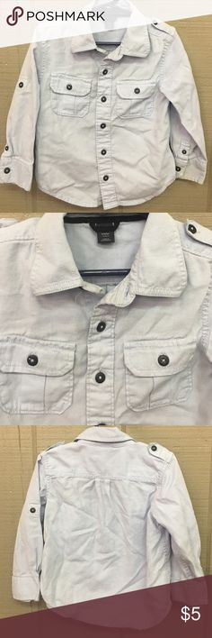 Baby Gap light blue button up 3t Baby Gap light blue button up 3t GAP Shirts & Tops Button Down Shirts