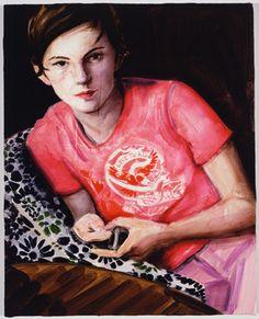 Elizabeth Peyton, self-portrait