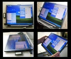 DIY - How to make a tablet from any old Laptop