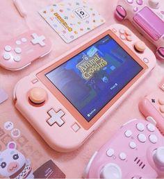 #nintendo #nintendoswitchlite #Switchlite #nintendoswitch #pink #pinkaesthetic #handheldgaming #animalcrossingnewhorizons #pinkfeed #gamingcommunity #gamingcollection #gaming #gamer #どうぶつの森 #あつまれどうぶつの森 #pinkpinkpink #ピンク好き Nintendo Lite, Nintendo Switch Case, Nintendo Switch System, Buy Nintendo, Gamer Setup, Gaming Room Setup, Kawai Japan, Nintendo Switch Animal Crossing, Kawaii Games