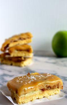 Decadent lekkere appel-karamelrepen