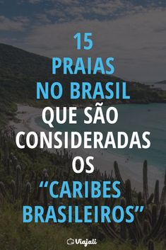 "15 praias no Brasil que são consideradas os ""Caribes brasileiros"" Travel And Tourism, Travel Guide, Wanderlust, Water Photography, Life Is An Adventure, Aesthetic Pictures, Trip Planning, Brazil, Places To Visit"