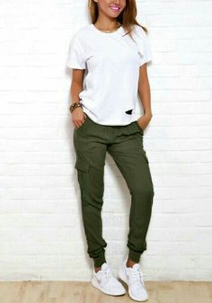 i want these green joggers!