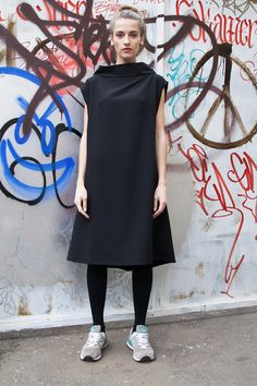 Black Dress by myfigura on Etsy