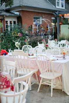 Colorado Wedding from Laura Murray Photography + Chairished Vintage Rentals Eclectic Chairs, Brunch Decor, Vintage Wedding Photography, Vintage China, Event Decor, Wedding Table, Colorado, Table Decorations, Denver