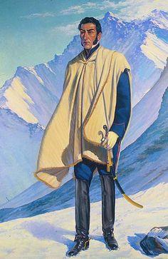 San Martín y el Aconcagua, Fidel Roig Matons