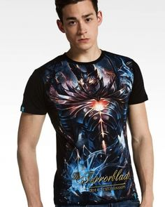 Dota 2 Terrorblade t shirt for men cool gaming t shirts cotton-
