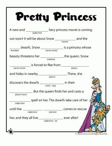 photo about Mad Libs Online Printable Free referred to as 13 Least complicated crazy libs printables pictures inside of 2015 Nuts libs for