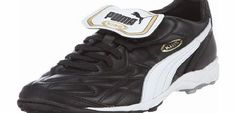 Puma King Classic Allround TF Football Trainers Black/White/Gold - size 9 No description (Barcode EAN = 4029934649372). http://www.comparestoreprices.co.uk/trainers/puma-king-classic-allround-tf-football-trainers-black-white-gold--size-9.asp