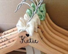 Items similar to UK seller: Wedding Coathanger for bride and bridesmaids on Etsy Clothes Hanger, Daisy, My Etsy Shop, Bridesmaid, Trending Outfits, Unique Jewelry, Handmade Gifts, Wedding, Vintage