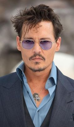 Johnny Depp attends the UK Premiere of 'The Lone Ranger'
