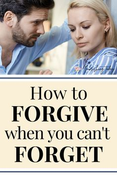 Can you forgive when you can't forget? Whether you need to forgive in marriage, a family member, a friendship or any other relationship, it can be difficult to forgive when you've experienced a deep hurt. Here you'll find scripture on what God says about forgiveness and how you can forgive even when you can't forget. #bibleverses #scriptures #forgiveness #prayer Christian Women, Christian Living, Toxic Relationships, Healthy Relationships, Forgiveness Prayer, Hope In God, Women Of Faith, Christian Encouragement, Daily Prayer