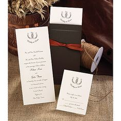 Country Western Invitations