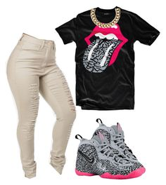 """Elephant"" by prettygirlnunu ❤ liked on Polyvore featuring NIKE and Club Manhattan"