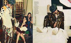 Korea Model모델 /Idol아이돌: ELLE 3月號 - The King Of Idol