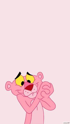Pink Panther wallpaper Iphone Wallpaper Vsco, Cartoon Wallpaper Iphone, Disney Phone Wallpaper, Mood Wallpaper, Homescreen Wallpaper, Iphone Background Wallpaper, Cute Cartoon Wallpapers, Tumblr Wallpaper, Colorful Wallpaper