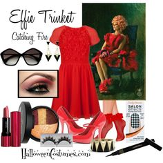 Effie Trinket's Capitol Fashion - inspiration - Catching Fire, Hunger Games