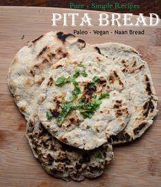 Paleo Pita Bread #glutenfree #grainfree #paleo