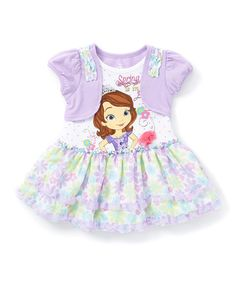 Look at this Purple Floral Sofia the First Dress - Toddler  amp  Girls on   921621cf7