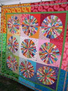 Red Pepper Quilts: Bloggers Quilt Festival - Favorite Quilt   ....... Blow. Your. Mind.  Her colors and precision are beyond words.