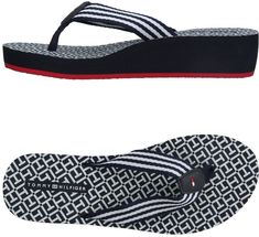dcb3b7dd0 TOMMY HILFIGER Toe strap sandals. tommy hilfeger flip flops for womens