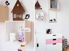Kinderzimmer Wandgestaltung , Deko