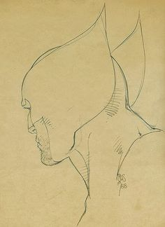 Wolverine sketch by Barry Windsor-Smith 1988