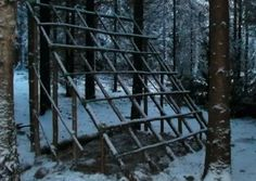 How To Build A Long Term Survival Shelter You never know when you may need to stay semi long term in the wilderness #shtf #prepping #survival