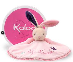 Kaloo Petite Rose Doudou, presented in the unique Kaloo Hatbox free of charge.
