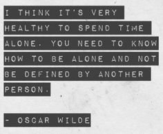Oscar Wilde about loneliness. #OscarWilde #quote #quotes #loneliness #solitude