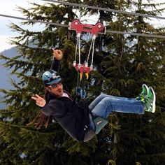Amazing time, Amazing family friends Zipline Grouse mountain, Vancover - Canada 2013 thank you - @maratleiras- #webstagram