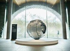 Artist Ichwan Noor compresses VW bugs into perfect spheres.