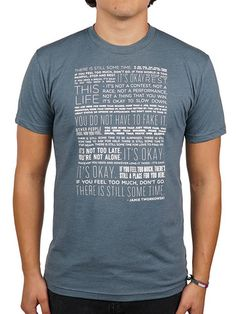 To Write Love on Her Arms Official Online Store - There Is Still Some Time Shirt
