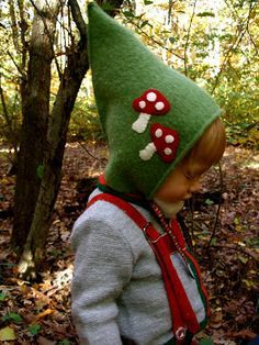 Acorn Pies: How to Make a Gnome Hat For a Young Child