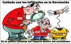 La quinta columna carcome las bases de la Revolución e impide la consolidación del socialismo por José Núñez. http://zuliaprensa.blogspot.com/2014/04/la-quinta-columna-carcome-las-bases-de.html