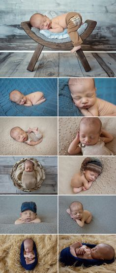 10 day old baby boy in studio for his first photo shoot.  Sunny S-H Photography