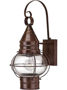 Porch Lantern Lights. Solid Brass Cape Cod Porch Light With Clear Seedy Glass