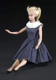 Bill Lilli, the German mother of Barbie - Barbie is a fashion doll manufactured by the American toy-company Mattel Inc. and was launched in March 1959. American businesswoman Ruth Handler is credited with the creation of the doll using a German doll called Bild Lilli as her inspiration.