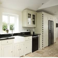 image result for american fridge freezer in kitchen design not built in one wall - One Wall Kitchen Designs
